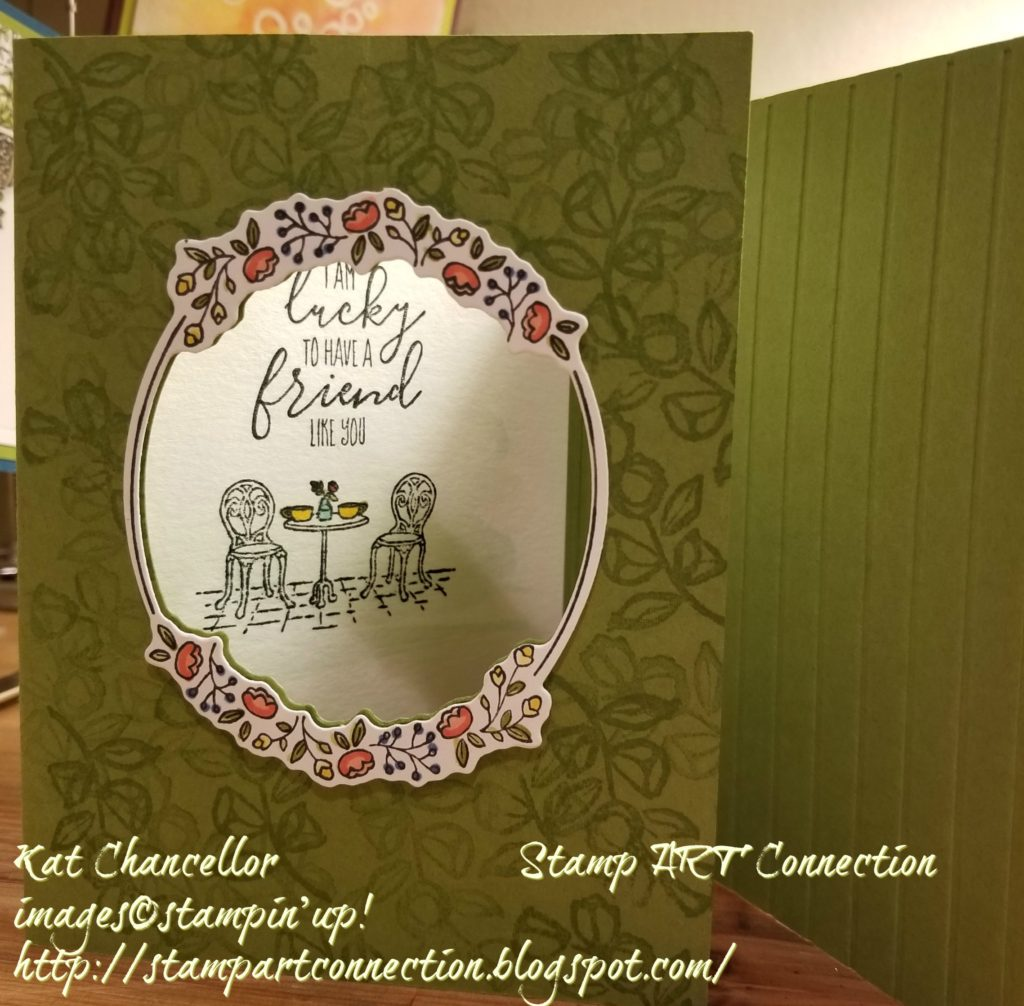 Card using the Charming Cafe bundle