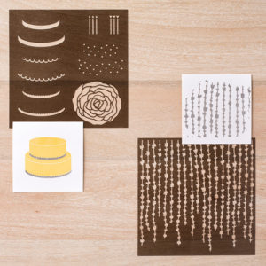 To be used with the Embossing Paste